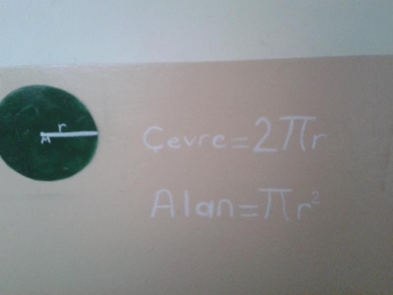 Koridorlara matemetik ifadelele donattık.